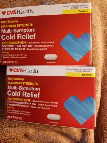 CVS HEALTH COLD Medicine Multi Symptom Cough Relief Maximum