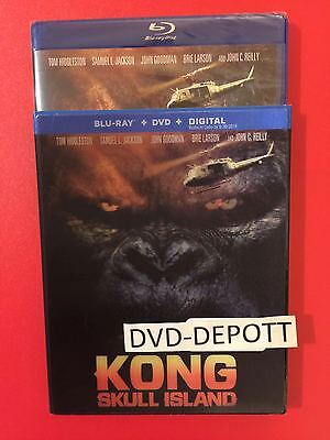 Kong Skull Island Blu Ray   Dvd   Hd   Bonus Content Lenticular Slipcover Target