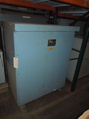 Jefferson 500kva 460-220v 3ph Dry Type Transformer Used Nema 3r Electrically Ok