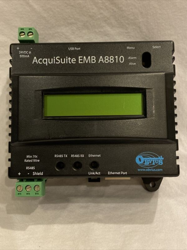 Obvius AcquiSuite EMB A8810-0 Embedded Data Acquisition System