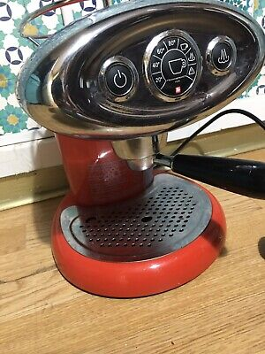 Illy Coffee Machine In Red