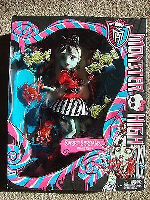 Monster High SWEET SCREAMS FRANKIE STEIN Mint In Excellent Box 2013 Mattel