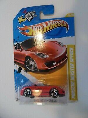 2012 Hot Wheels PORSCHE BOXSTER SPYDER New Models Red new 1/64