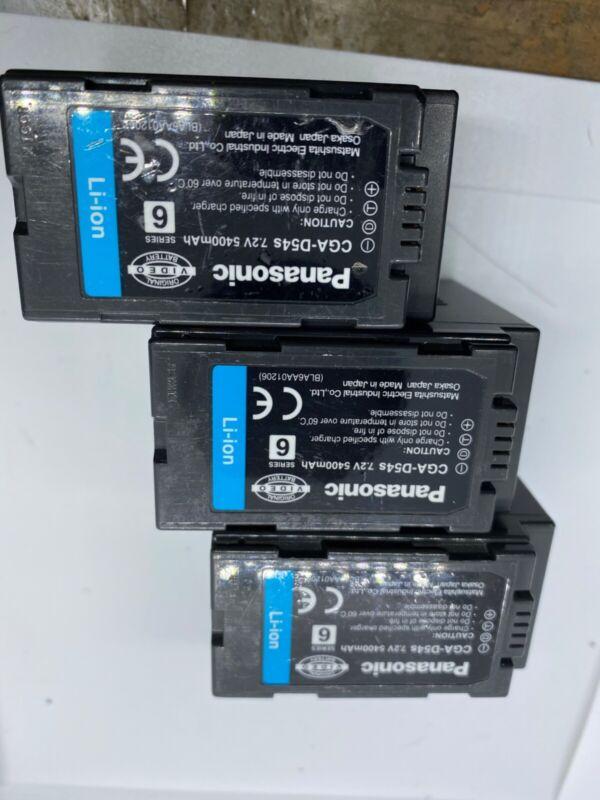 Genuine Panasonic CGA-D54 Lithium-Ion Battery Pack USED