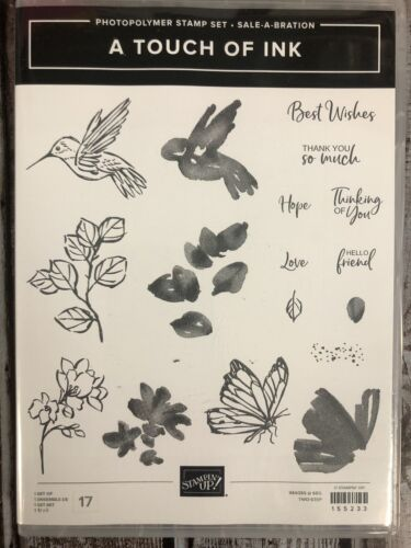 Stampin Up A Touch Of Ink Stamp Set Retired  - $12.00