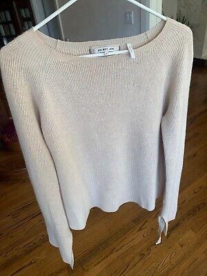 Helmut Lang Tan Sweater