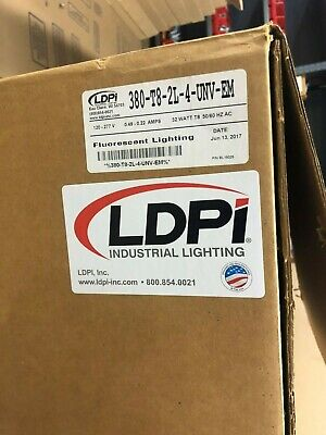 "LDPI 89024 Explosion Proof Booth Lights 50/"" X 14/"""