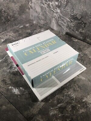 TF Publishing Daily Task Pad & Zero Plastic Undated Daily