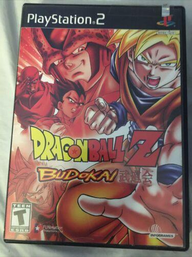 Dragon Ball Z Budokai Budokai 2 Sony PlayStation 2, 2 Game Lot - $9.99