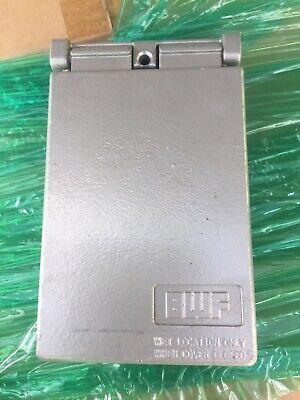 Ses Lot 2 Gray 1 Gang Vertical Gfcidecorator Cover Model Fgv-1dc