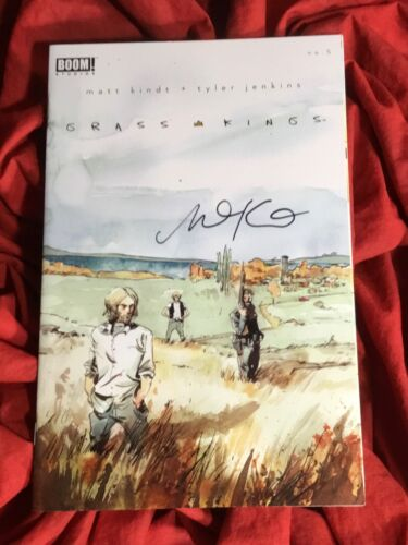GRASS KINGS #5~1st PRINT~HAND-SIGNED BY MATT KINDT~NEW TV SHOW COMING~BOOM!
