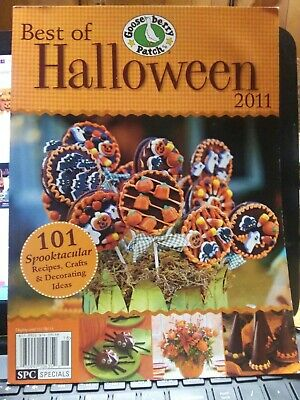 Spooktacular Recipes Crafts Decorating Gooseberry Patch Best Halloween Book 2011 - Best Halloween Recipes