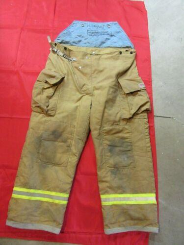 MFG.2001 LARGE 38-40 WAIST FYREPEL Turnout Gear Firefighter Bunker Pants