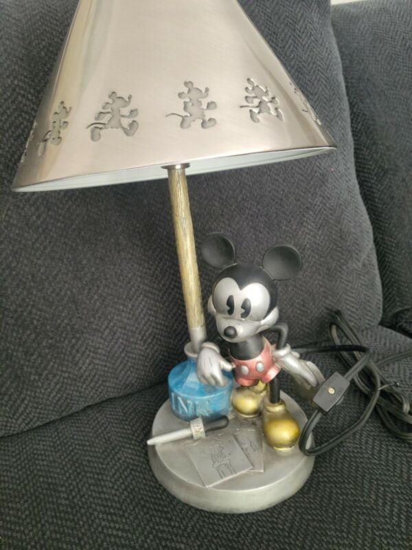Disney Hampton Bay 2002 Mickey Mouse Lamp