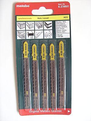 Metabo Stichsägeblätter 74/ 2,5 mm Art. 6.23650 für Holz