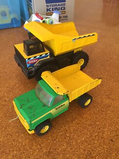 Tonka truck including one vintage