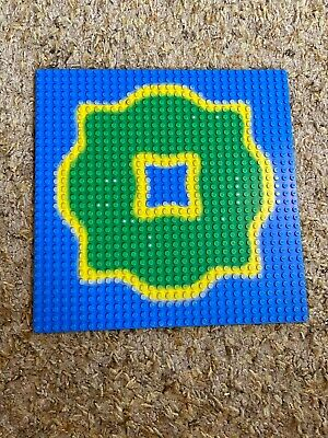 Lego Vintage Pirate Base Plate 10x10 From Forbidden Island Set