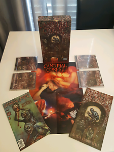 Cannibal Corpse 15 Year Killing Spree BOX SET Condell Park Bankstown Area Preview