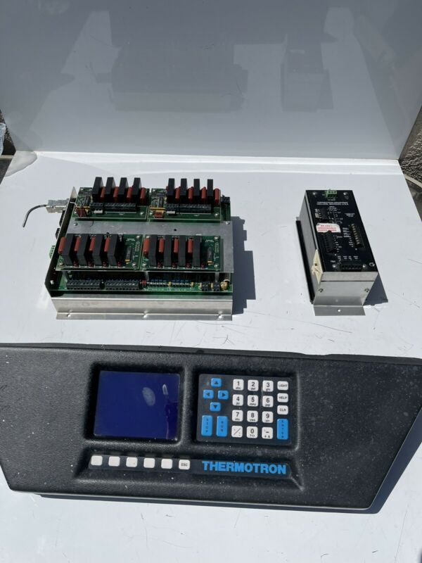 Thermotron 7800 Display , Controller Board, And EMB T-Alarm Reboots, Screen Line