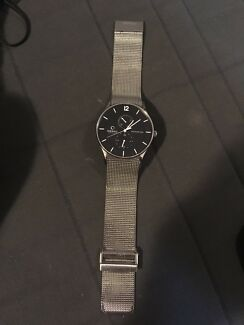 Obaku Multifunction steel watch