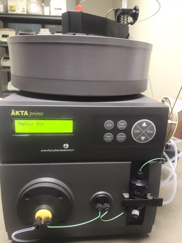 GE Pharmacia AKTA Prime FPLC Chromatography System