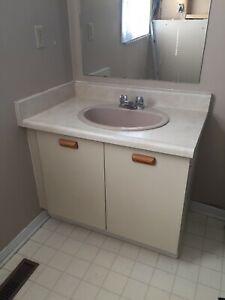 Bathroom Vanity With Mirror & Light