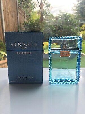 New Versace Man Eau Fraiche 100ml Edt Spray For Men