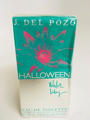 HALLOWEEN WATER LILY J. Del Pozo 3.4oz/100 ML EDT perfume NEW Original Sealed - J.del Pozo Halloween Water Lily