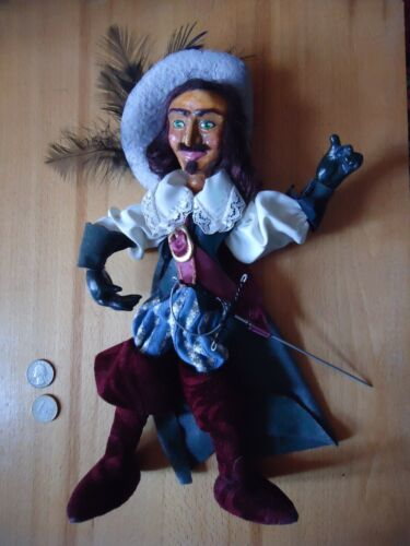 = 320mm ONE Very Nice HAND MADE Franch Musketier Doll =
