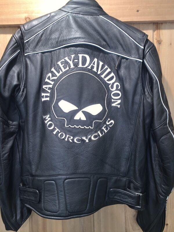 Harley Davidson Leather Jacket Willie G Skull