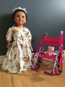 American Doll with accessories