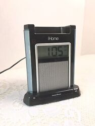 iHome iH4BV Alarm Clock Speaker System iPod iPhone Dock with Charger