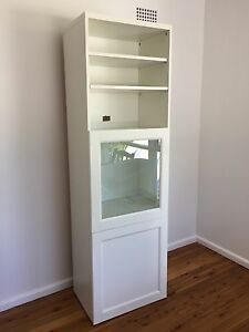 IKEA White Besta cabinet with 4 shelves & 2 doors Mona Vale Pittwater Area Preview
