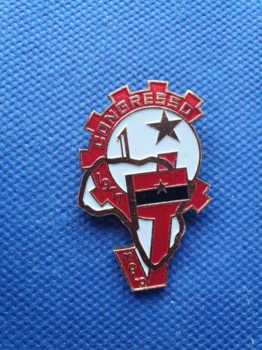 pin badge anstecknadel MPLA People Movement Liberation Angola Congress 1971