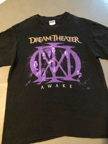 Vintage 1995 Dream Theater JAPAN WAKING THE WORLD TOUR SHIRT RARE LARGE