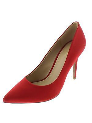 7 8 9 MICHAEL KORS DOROTHY FLEX PUMP SCARLET RED WOMEN'S SLIP ON HEELS SHOES - Red Dorothy Heels