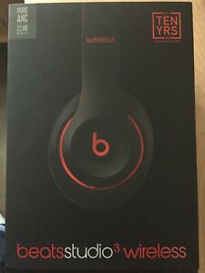 Beats studio 3 wireless ten years edition