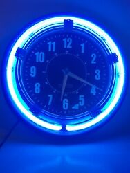 Sterling Noble Neon Clock