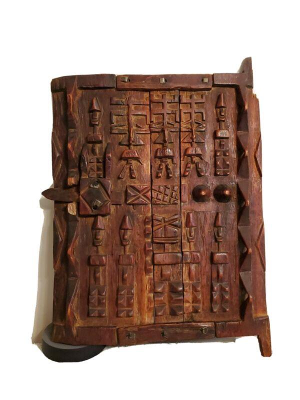 Dogon Door Mali Hand Carved