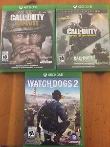 Xbox One Games $30 Each
