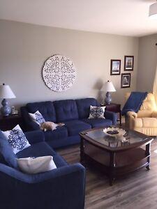 Beautiful Sofa and Loveseat