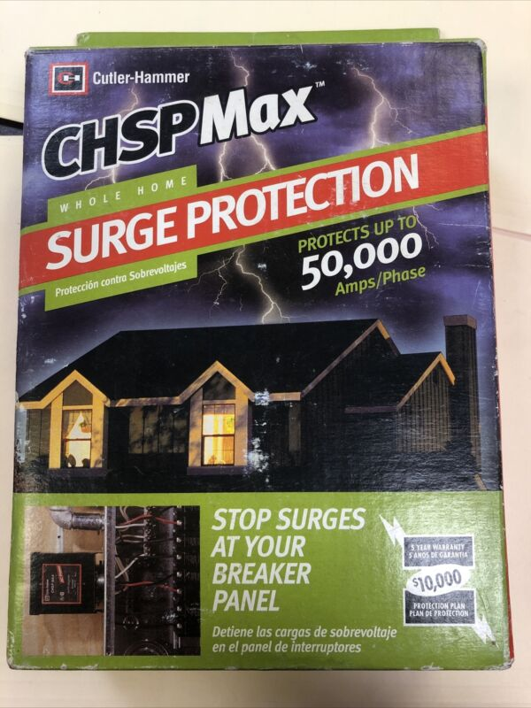 NEW Eaton Cutler-Hammer CHSP MAX Home Surge Protection 15AMP 120/240VOLT