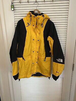 North Face Vintage Gore-Tex Shell Jacket Green Black Men's Medium