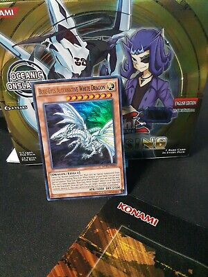 Blue Eyes Alternative White Dragon Ultra MVP1-EN046