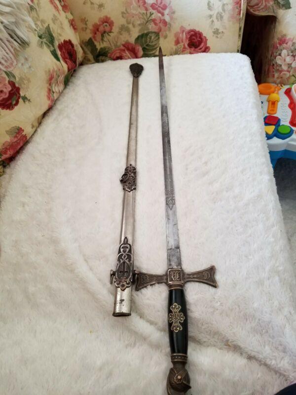 1800 Masonic Sword