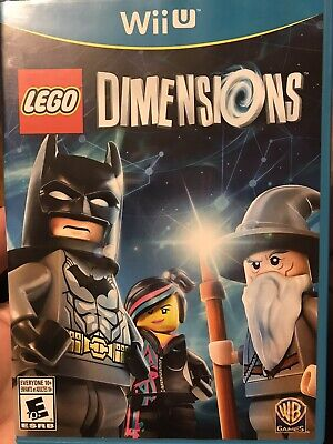 wii u lego dimensions Game Disc Only