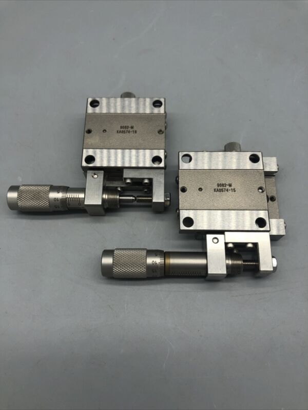 Newport 9052-m translation stages with micrometers 2qty.   0420-2
