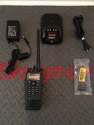 Motorola Xpr 6550 Mototrbo Vhf 136-174mhz. Dmr Digital Radio Pkg. Mint Housing