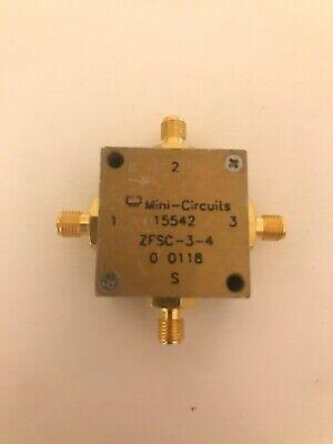 Mini-circuits Zfsc-3-4 3 Ways Power Splitter 1 - 1000 Mhz 50 Sma