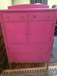 Antique wooden dresser
